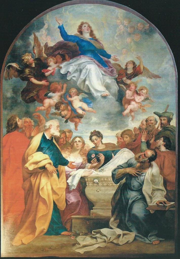 Peinture de Seghers, du retable de l'Eglise Notre Dame