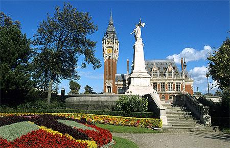 L'hôtel de ville de Calais