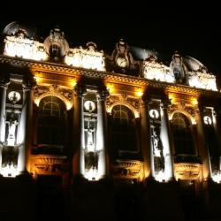 Le theatre de Calais, la nuit