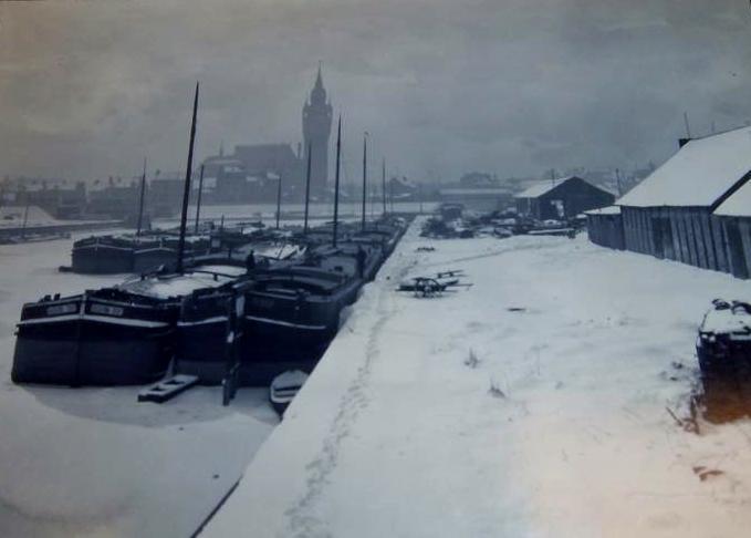 Photographie ancienne de Calais en 1929