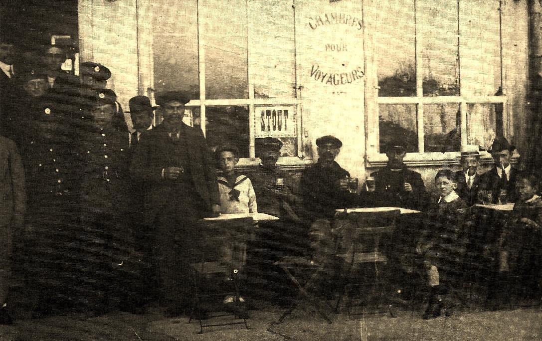 Calais ancien café des pilotes boulevard des alliés