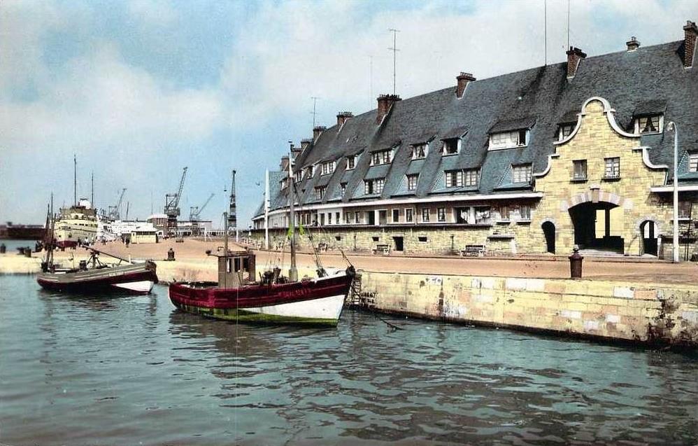 Calais bateaux de peche