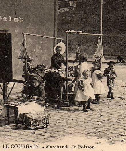 Calais marchande de poissons