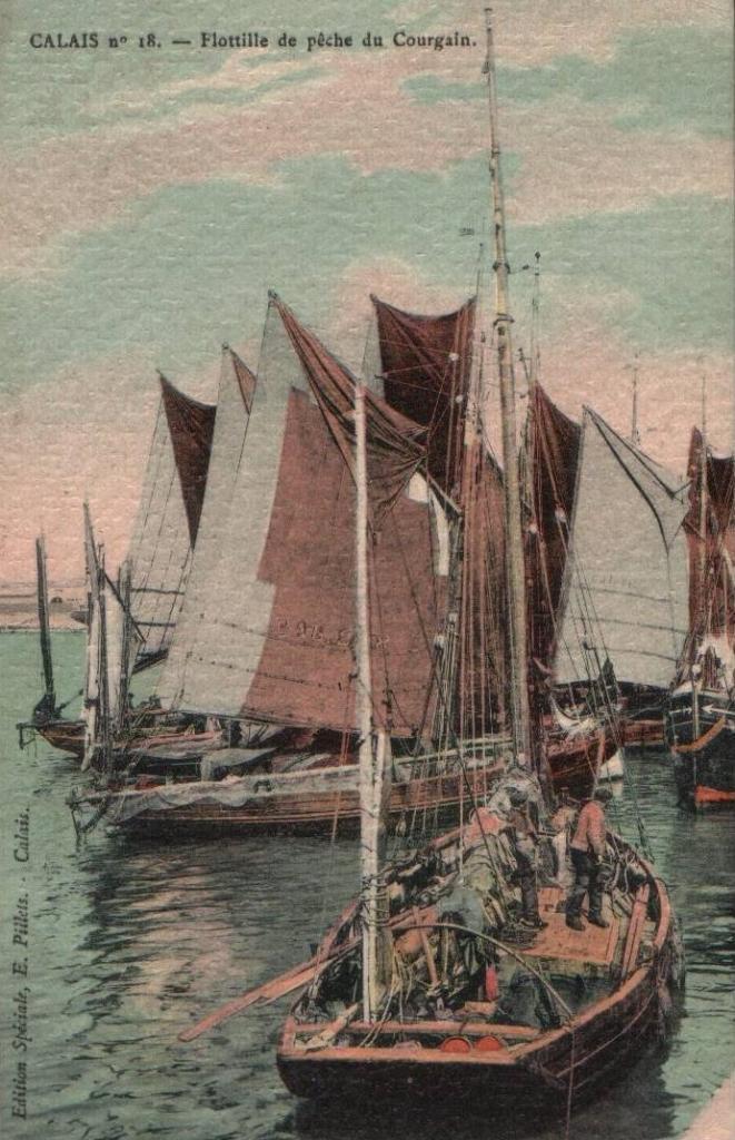 Calais flotille du courgain