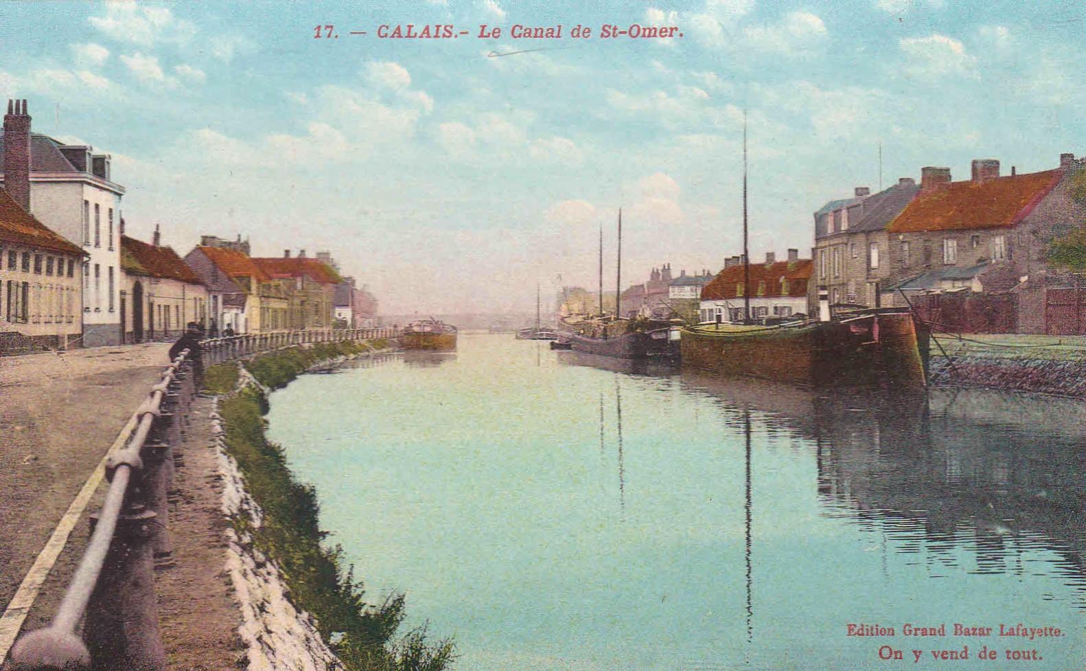 Calais le canal de saint omer