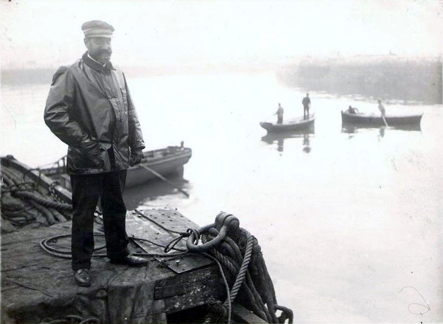 Photo Calais le commandant amette