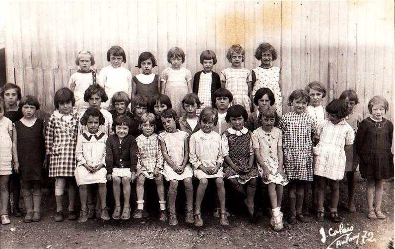 Calais photo de classe 1972