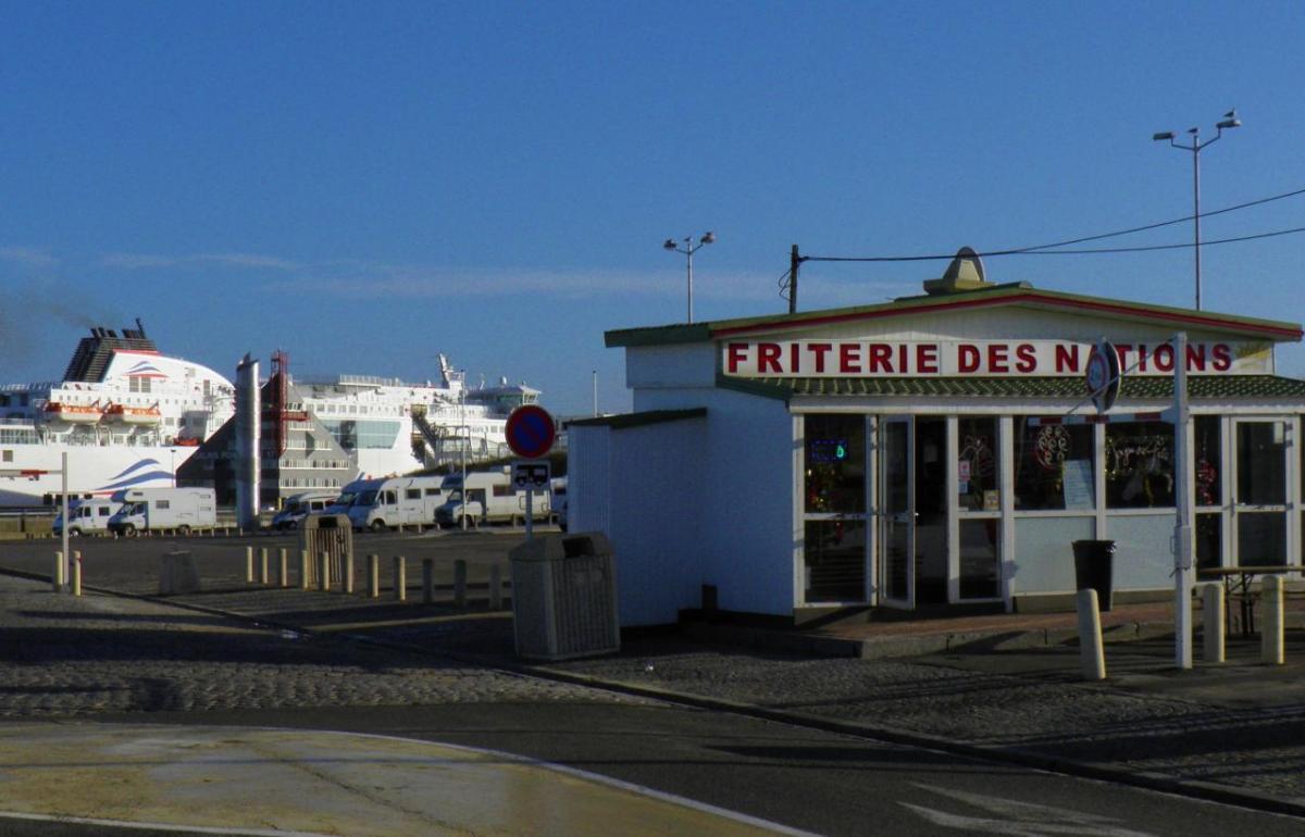 photographie friterie campin car Calais