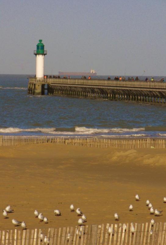 Photographie plage Calais