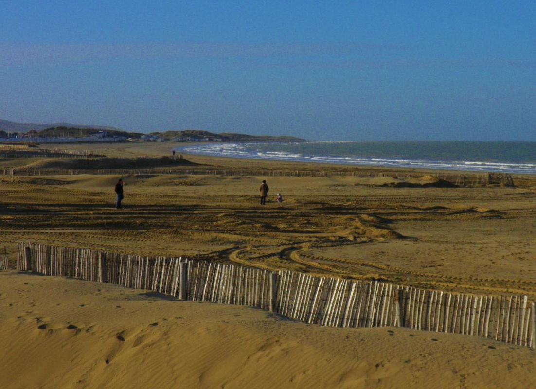 Photographie de la plage de Calais