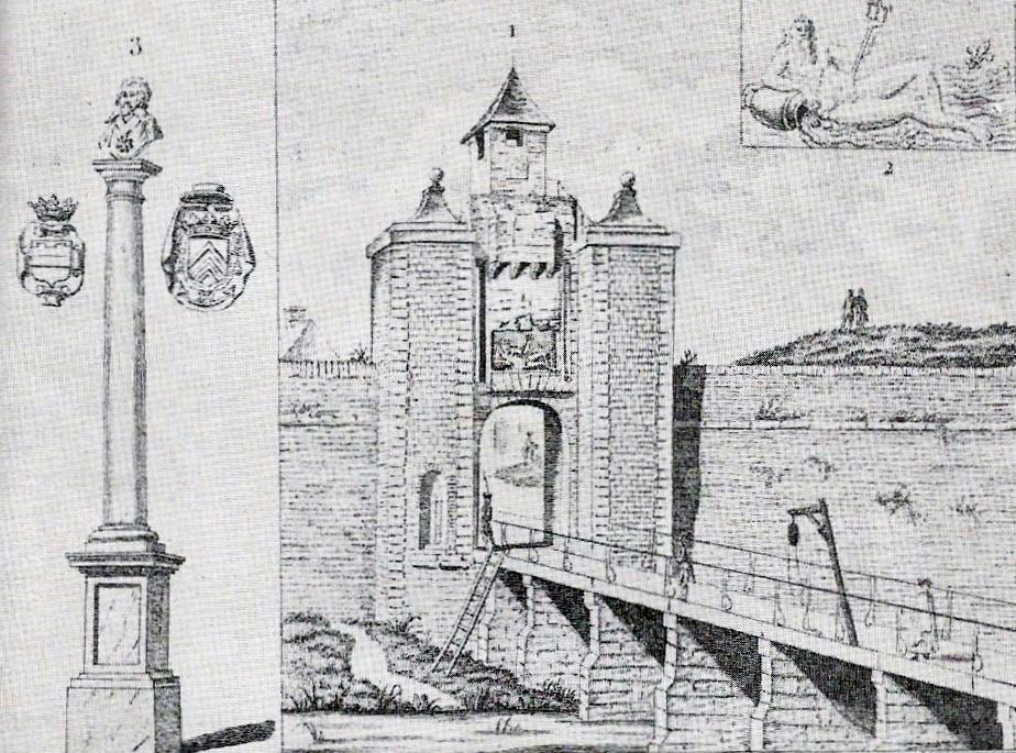 Calais porte de la citadelle