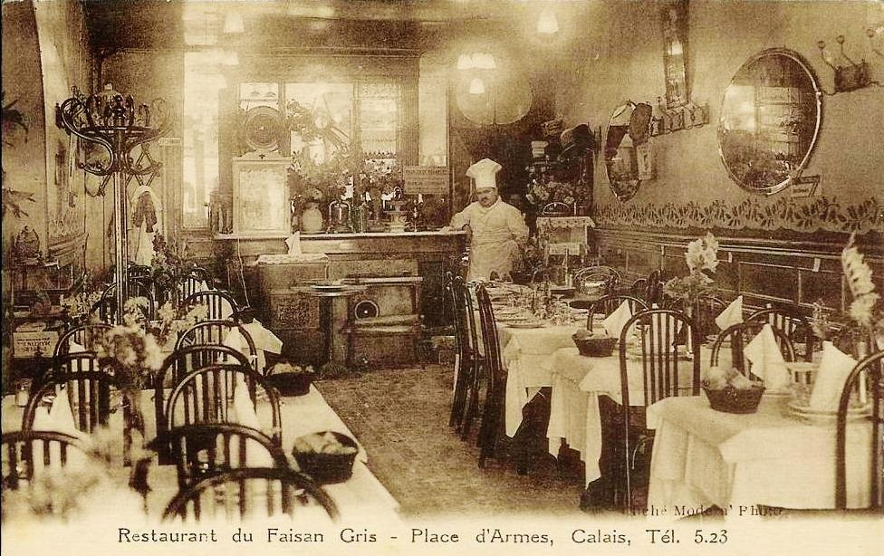 Calais restaurant faisan gris
