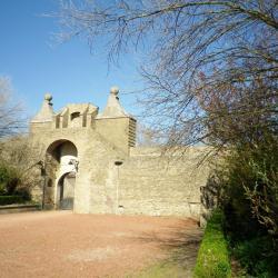 La citadelle de Calais et la porte de Neptune