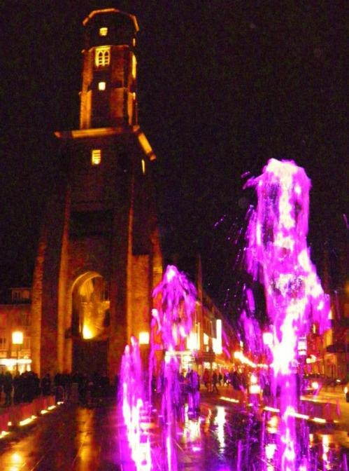Fontaine de calais illuminations