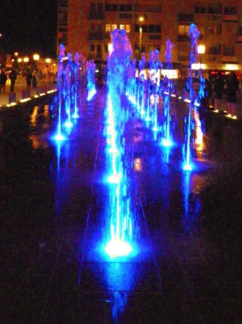 photographie de la Fontaine à calais place d'armes