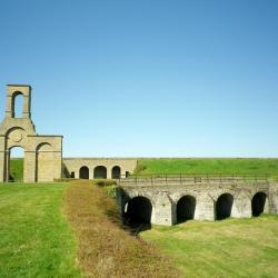 Le fort Nieulay et son écluse