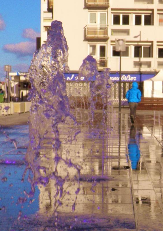 photographie calais Nouvelle fontaine