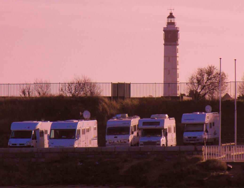 Photographie camping car calais