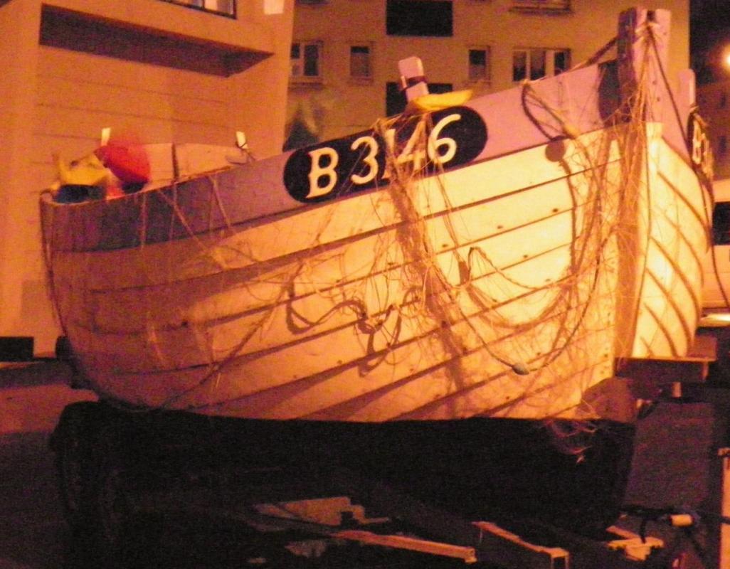 Photographie d'un flobard Calais fête du hareng