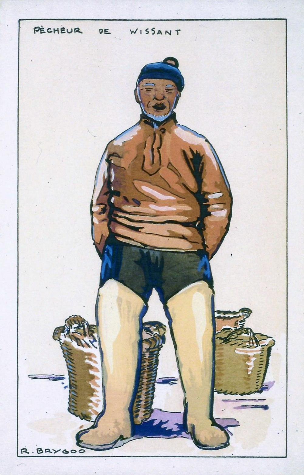 Raoul Brygoo pêcheur de Wissant
