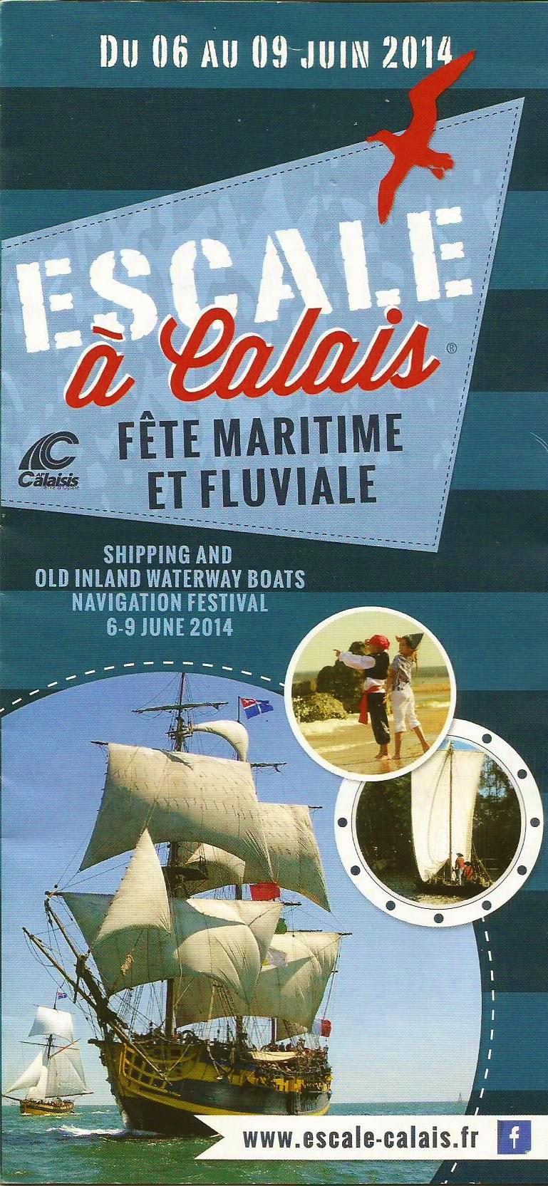 Escale à Calais,  grande fête maritime et fluviale