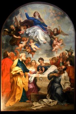 Une oeuvre monumentale de Seghers, retable de Notre Dame